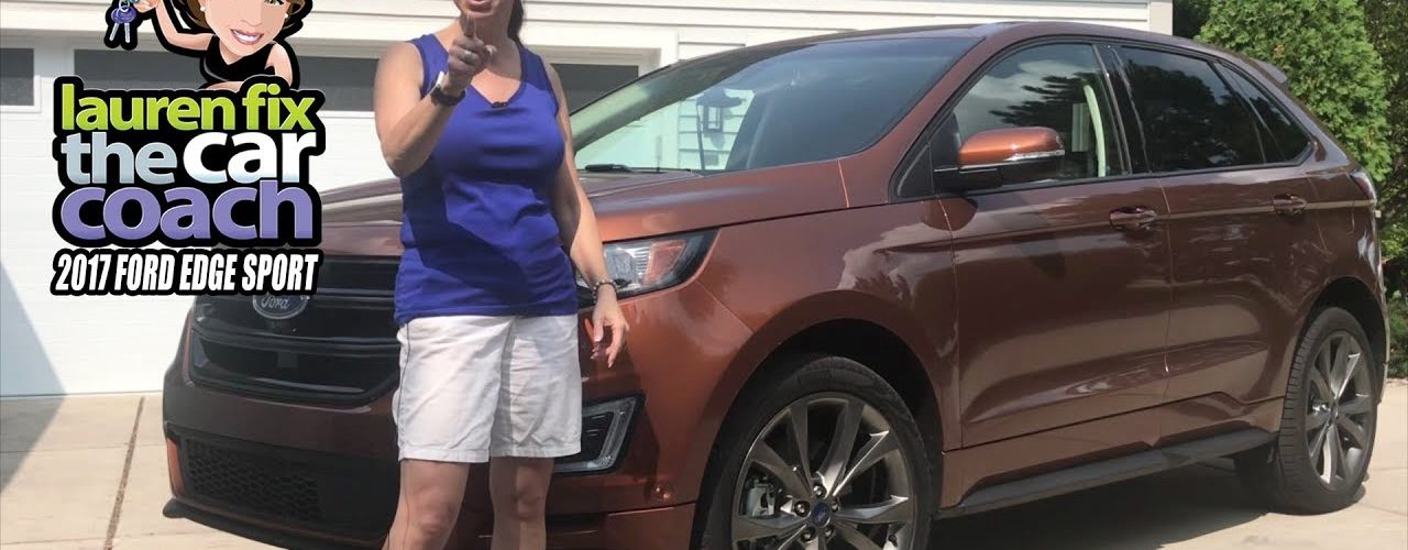 2017 Ford Edge Sport Car Review by Lauren Fix, The Car Coach®