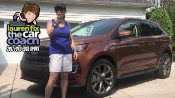2017 Ford Edge Sport Car Review by Lauren Fix, The Car Coach®