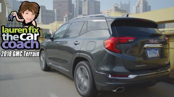 2018 GMC Terrain Car Review by Lauren Fix, The Car Coach®