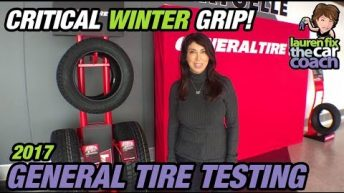 2017 General Tire - Winter Tire Testing with Lauren Fix