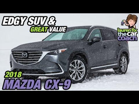 Edgy SUV & Great Value - 2018 Mazda CX-9