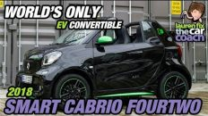 World's Only EV Convertible - 2018 Smart Cabrio FourTwo