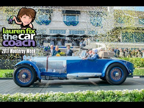 2017 Monterey Week with Lauren Fix, The Car Coach®