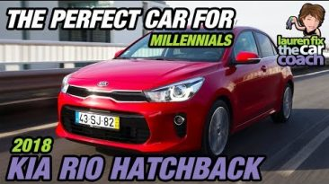 The Perfect Car for Millennials - 2018 Kia Rio Hatchback