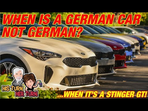 When is a German Car Not German? The 2018 Kia Stinger GT!