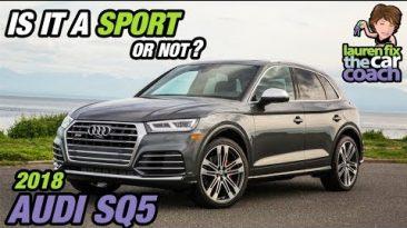 Hot, Compact CUV - 2018 Audi SQ5 with Lauren Fix