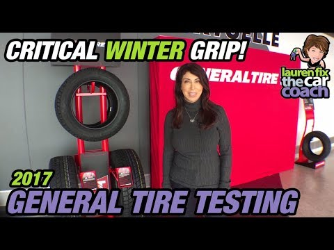 2017 General Tire - Winter Tire Testing with Lauren Fix