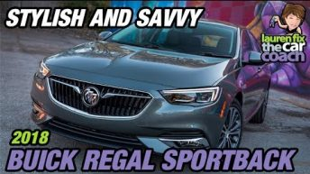 Stylish and Savvy - 2018 Buick Regal Sportback