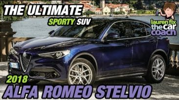 The Ultimate Sporty SUV - 2018 Alfa Romeo Stelvio