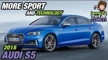 More Sport and Technology - 2018 Audi S5