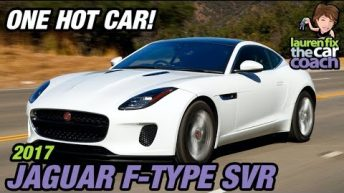 One Hot Car! 2017 Jaguar F-Type SVR