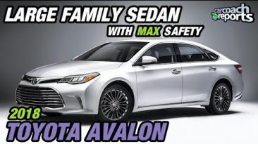 2018 Toyota Avalon - Large Family Sedan with MAX Safety