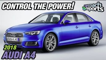 Control the Power! 2018 Audi A4 Manual