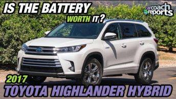 2017 Toyota Highlander Hybrid - Is the Battery Worth It?