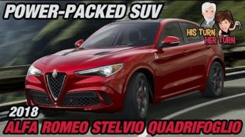 2018 Alfa Romeo Stelvio Quadrifoglio - Power-Packed SUV