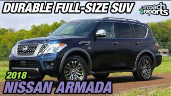 2018 Nissan Armada - Durable Full-Size SUV