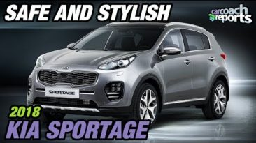 2018 Kia Sportage - Safe and Stylish