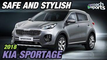 2018 Kia Sportage - Safe and Stylish