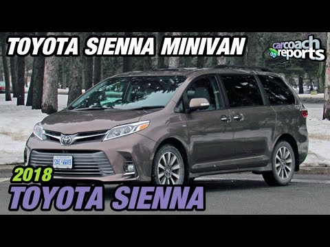 2018 Toyota Sienna - The Only Minivan with AWD