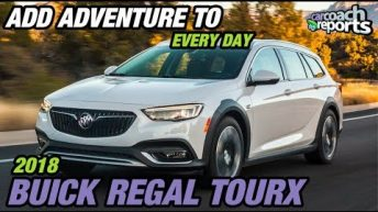 2018 Buick Regal TourX - Adventure to Every Drive