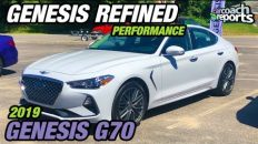 2019 Genesis G70 - Genesis Refined Performance