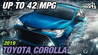 2019 Toyota Corolla - Up to 42 MPG