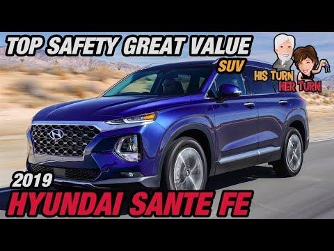 2019 Hyundai Santa Fe - Top Safety, Great Value SUV