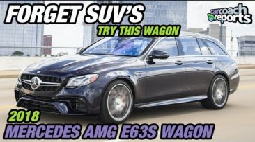 Forget SUV's - Try This Wagon - 2018 Mercedes AMG E63S Wagon