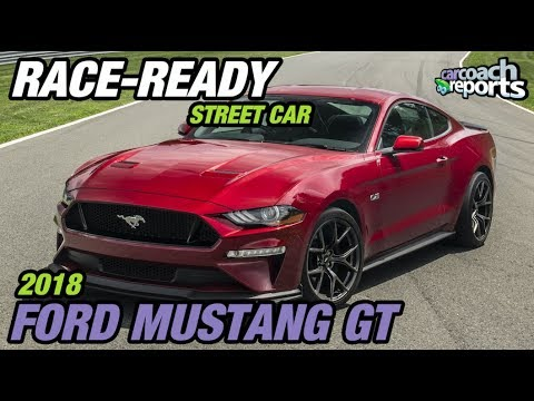 Race-Ready Street Car - 2018 Mustang Track Pack