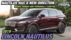 2019 Lincoln Nautilus - Nautilus Has a New Direction