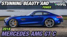 2018 Mercedes AMG GT C - Stunning Beauty & Power
