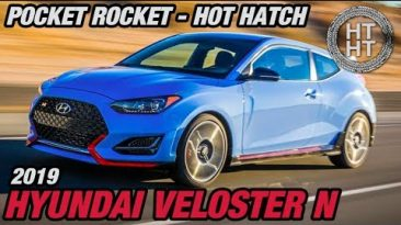2019 Hyundai Veloster N - Pocket Rocket - Hot Hatch