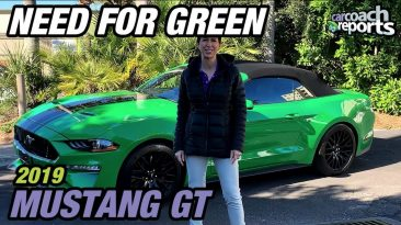 2019 Mustang GT Convertible Review - Need For Green