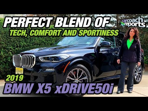 2019 BMW X5 xDrive50i - Perfect Blend of Tech, Comfort & Sportiness