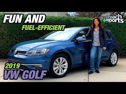 2019 VW Golf - Fun and Fuel-Efficient