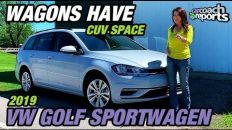 2019 Volkswagen Golf SportWagen - Wagons Have CUV Space