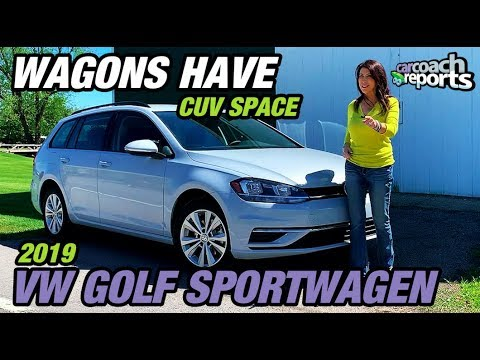 2019 Volkswagen Golf SportWagen - Wagons Have CUV Space